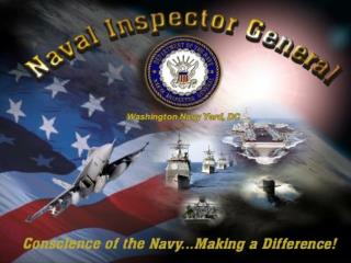 Office of the Naval Inspector General Feedback for the 2010 EOA Symposium  ENCM Scott Van Dyke