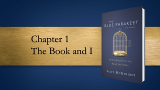 Chapter 1 The Book and I