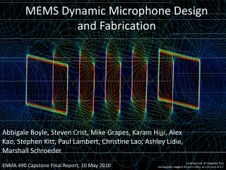 MEMS Dynamic Microphone Design and Fabrication