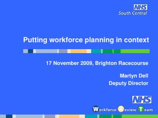 Putting workforce planning in context