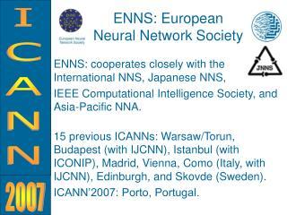 ENNS: European  Neural Network Society