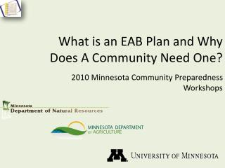 What is an EAB Plan and Why Does A Community Need One?