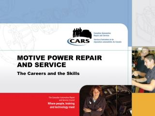 MOTIVE POWER REPAIR AND SERVICE
