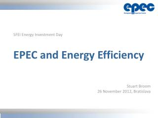 EPEC and Energy Efficiency