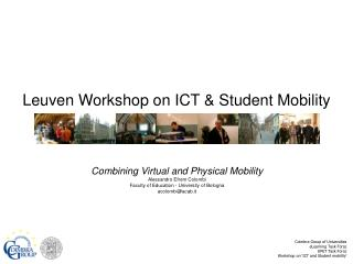Leuven Workshop on ICT & Student Mobility