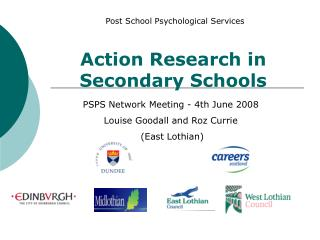 Action Research in Secondary Schools