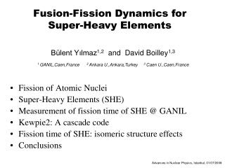 Fusion-Fission Dynamics for Super-Heavy Elements