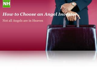 How to Choose an Angel Investor