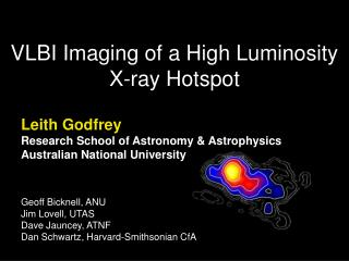 VLBI Imaging of a High Luminosity X-ray Hotspot