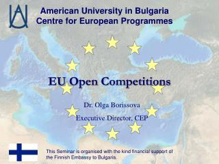 EU Open Competitions