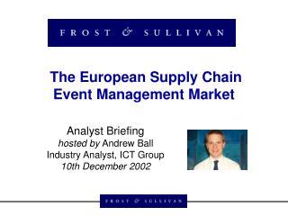 The European Supply Chain Event Management Market