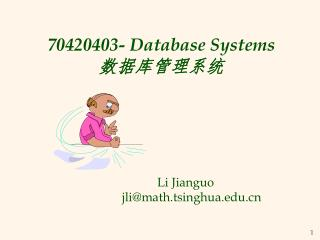 70420403- Database Systems  ???????