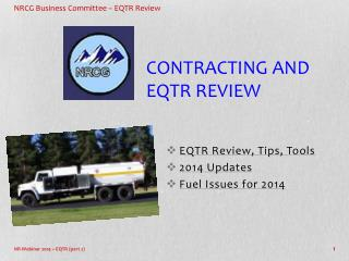 Contracting and EQTR Review