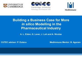 Building a Business Case for More in silico  Modelling in the  Pharmaceutical Industry