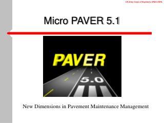Micro PAVER 5.1