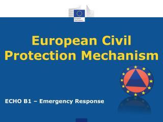 European Civil Protection Mechanism