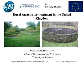 Rural wastewater treatment in the United Kingdom