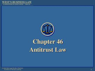 Chapter 46 Antitrust Law