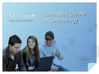 Start Your Career  In Technology