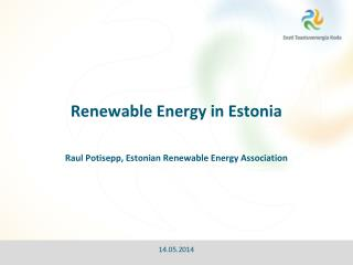 Renewable Energy in Estonia
