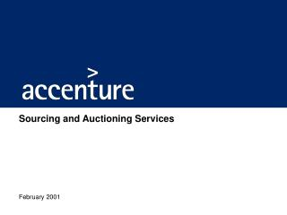 Sourcing and Auctioning Services