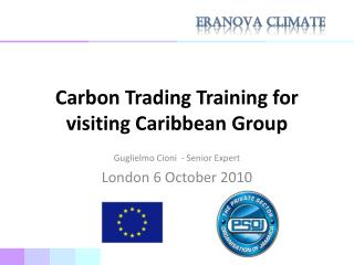 Carbon Trading Training for visiting Caribbean Group