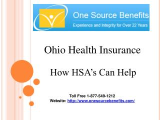 Ohio Health insurance - How HSA's Can Help