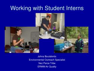 Working with Student Interns