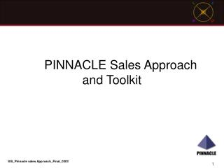 PINNACLE Sales Approach and Toolkit