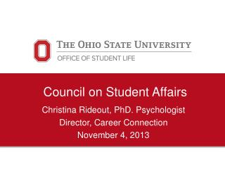 Council on Student Affairs