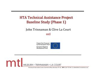 HTA Technical Assistance Project Baseline Study (Phase 1)