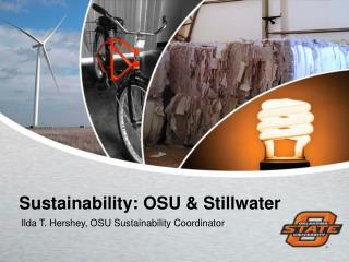 Sustainability: OSU & Stillwater