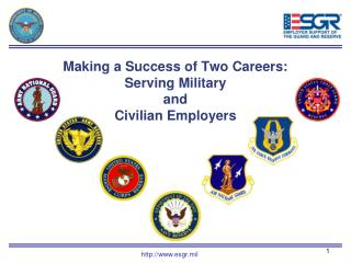 Making a Success of Two Careers:  Serving Military  and  Civilian Employers
