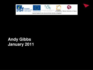 Andy Gibbs January 2011