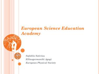 European  Science Education  Academy
