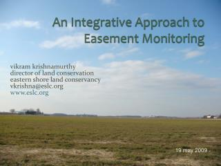 An Integrative Approach to Easement Monitoring