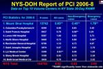 NYS-DOH Report of PCI 2006-8