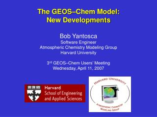 Current GEOS–Chem version