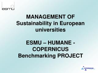 How can the University integrate Sustainability into the management, curricula and research?