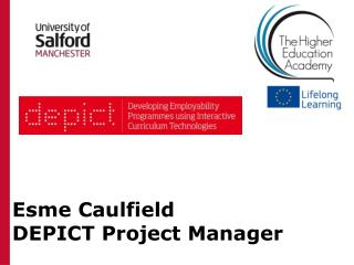 Esme  Caulfield DEPICT Project Manager