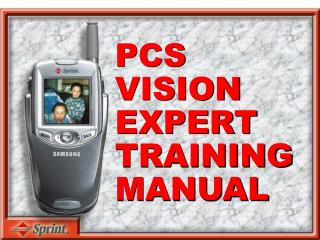 PCS VISION EXPERT TRAINING MANUAL
