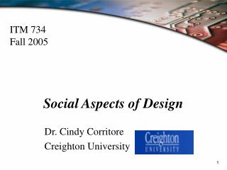 Social Aspects of Design