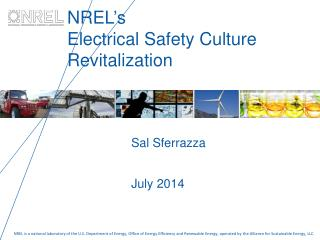 NREL's  Electrical Safety Culture Revitalization