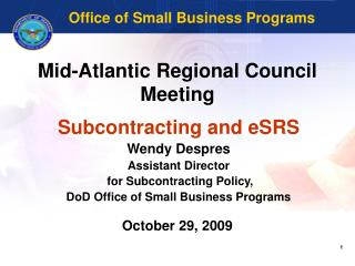 Mid-Atlantic Regional Council Meeting