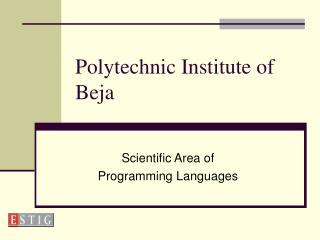 Polytechnic Institute of Beja