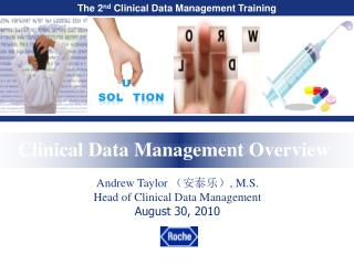 Clinical Data Management Overview