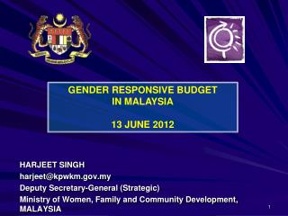 HARJEET SINGH harjeet@kpwkm.my Deputy Secretary-General (Strategic)