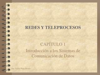 REDES Y TELEPROCESOS