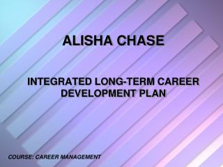 ALISHA CHASE