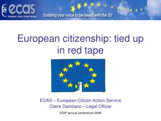 European citizenship: tied up in red tape